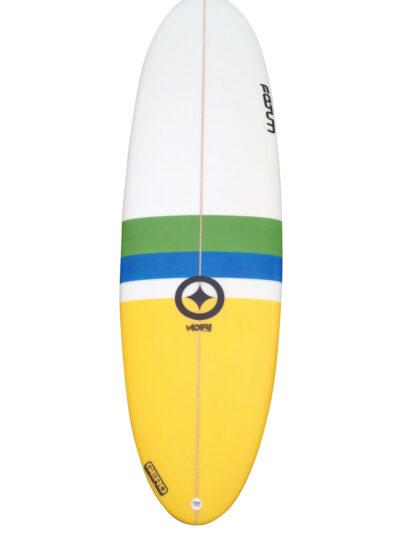 "Fatum Moby 6'10 Custom Surfboard """
