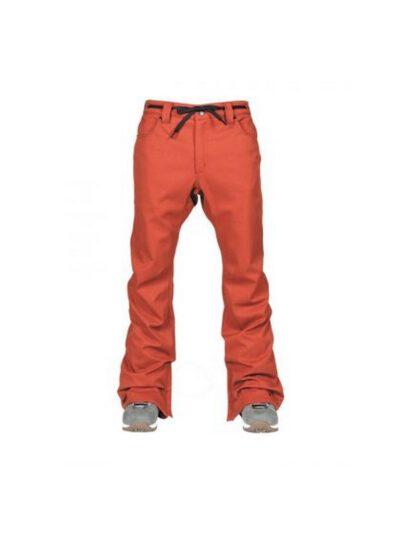 L1 Premium Goods Skinny Twill Snowboardhose RUST