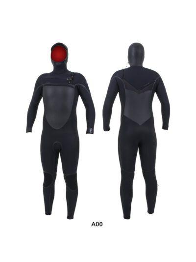 O'Neill Psycho Tech Hooded 6/4+ mm Frontzip Neoprenanzug