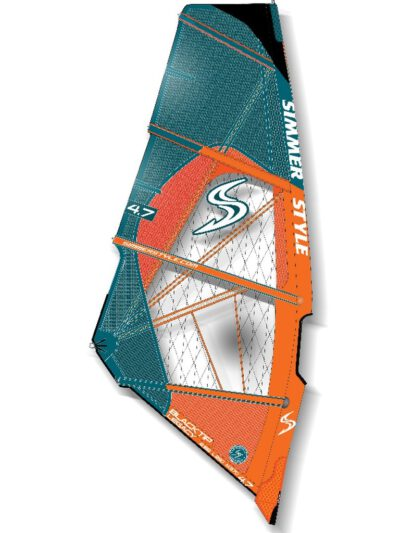 2020 Simmer Style Blacktip Legacy Wave Segel