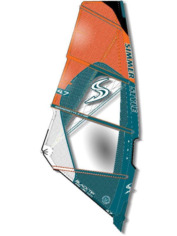 2020 Simmer Style Blacktip Wave Segel