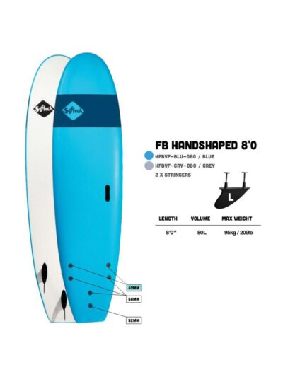 Softech Handshaped Funboard Softboard - Surflinekiel